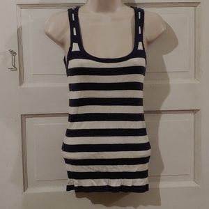 Gap Striped Tank Top XS
